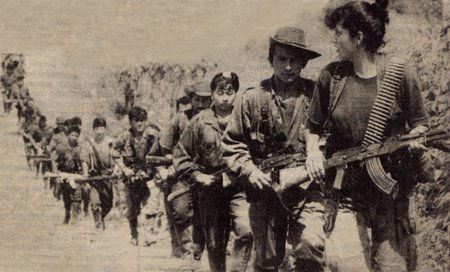 Resistance revolutionary forces in Peru