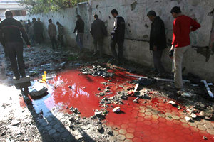 Blood in the streets of Gaza