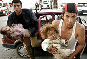 Victims of Israeli brutalities in Gaza
